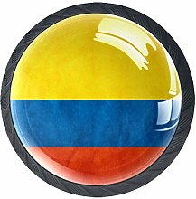 Kitchen Cabinet Knobs - Colombia Flag - Knobs for