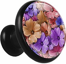 Kitchen Cabinet Knobs Colored Flowers Wardrobe