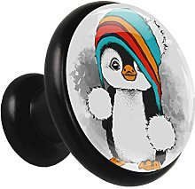 Kitchen Cabinet Knobs Cute Penguin Hat Wardrobe
