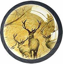 Kitchen Cabinet Knobs - Deer - Knobs for Dresser