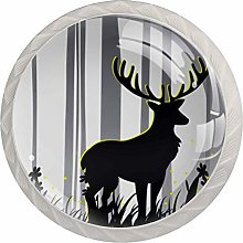 Kitchen Cabinet Knobs - Deer Shadow - Knobs for