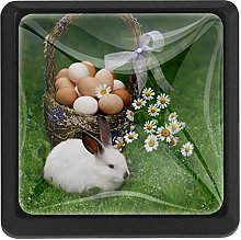 Kitchen Cabinet Knobs - Easter Basket Eggs Easter