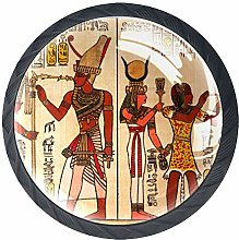 Kitchen Cabinet Knobs - Egyptian Papyrus Antique