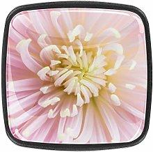 Kitchen Cabinet Knobs - Flower Pink(14) - Knobs