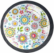 Kitchen Cabinet Knobs - Flowers - Knobs for