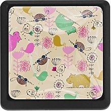 Kitchen Cabinet Knobs - Giraffe Pink - Knobs for