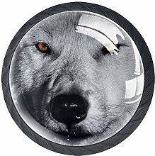 Kitchen Cabinet Knobs - Gray Wolf (2) - Knobs for