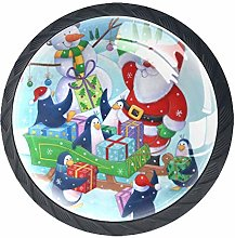 Kitchen Cabinet Knobs - Happy Christmas - Knobs