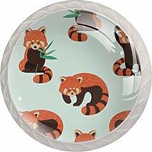 Kitchen Cabinet Knobs - Little Orange Raccoon -