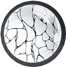 Kitchen Cabinet Knobs - Marble - Knobs for Dresser