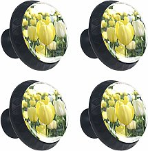 Kitchen Cabinet Knobs - Meadow with Colorful