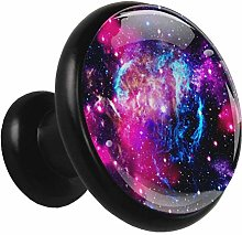 Kitchen Cabinet Knobs Nebula Galaxy Space Wardrobe