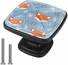 Kitchen Cabinet Knobs - Orange Fox - Knobs for