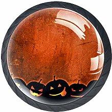 Kitchen Cabinet Knobs - Pumpkin Halloween Orange -