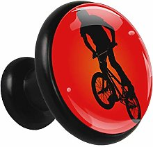Kitchen Cabinet Knobs Red Bicycle Wardrobe Knobs