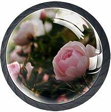 Kitchen Cabinet Knobs - Rose Flower - Knobs for