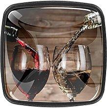 Kitchen Cabinet Knobs Round,Wine Drinks with Glass
