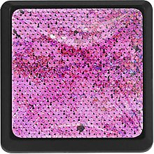 Kitchen Cabinet Knobs - Sequined Pink Classic -