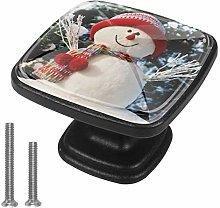 Kitchen Cabinet Knobs - Snowman - Knobs for