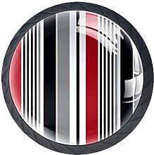 Kitchen Cabinet Knobs - Stripe - Knobs for Dresser