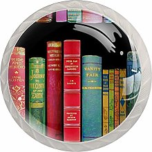Kitchen Cabinet Knobs - Vintage Bookshelf with
