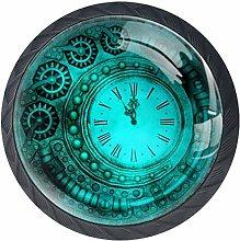 Kitchen Cabinet Knobs - Watches Gears Steampunk