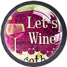 Kitchen Cabinet Knobs - Wine Grapes Country Wine