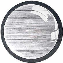 Kitchen Cabinet Knobs - Wood Gray Texture