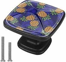 Kitchen Cabinet Knobs - Yellow Fruit Print - Knobs