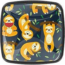 Kitchen Cabinet Knobs - Yellow Sloth Sport - Knobs