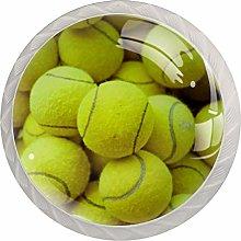 Kitchen Cabinet Knobs - Yellow Tennis Ball - Knobs