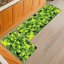 Kitchen Carpet 2 Pieces Kitchen Rugs and Mat