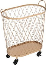 Kitchen Cart Trolley Storage Shelf Basket Holder