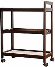 Kitchen cart XINGDONG Shelf trolley wooden trolley