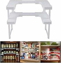 Kitchen Clear Storage Organizer Expandable Kitchen