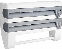 Kitchen Cling Film Storage Rack, Multi-Functional