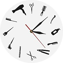 Kitchen clock Barber Equiment Wall Clock Modern