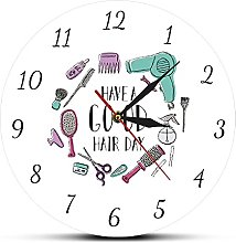 Kitchen clock Have A Good Hair Day Beauty Salon