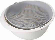 Kitchen Colander, Fruit Wash Colander Rice Bowl