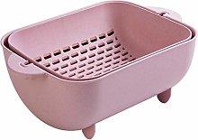 Kitchen Colander, Leachate Basket Multifunctional