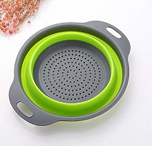 Kitchen Collapsible Foldable Silicone Colander