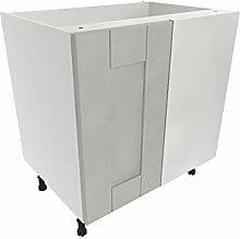 Kitchen Corner Base Unit Cabinet Wood Effect