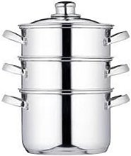 Kitchen Craft - 3 Tier Steamer - Silver
