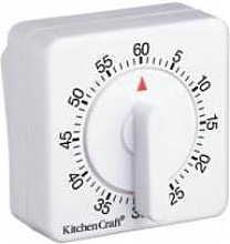 Kitchen Craft - 60 Minute Mechanical Timer