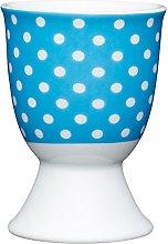 Kitchen Craft Blue Polka Dot Design Egg Cup,