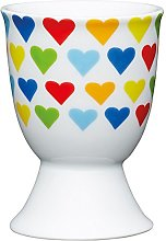 Kitchen Craft Bright Hearts Design Egg Cup,