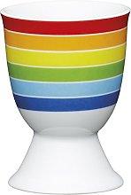 Kitchen Craft Bright Stripes Design Egg Cup,