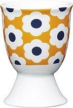 Kitchen Craft Egg Cup Retro Flower Spot Design of