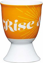 Kitchen Craft Egg Cup Retro Rise Design Porcelain