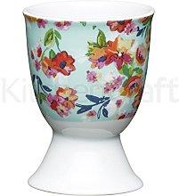 Kitchen Craft Floral Tropics Design Egg Cup,